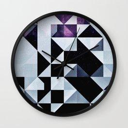 qyxt pixel Wall Clock