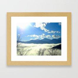Winter in Slovenia Framed Art Print