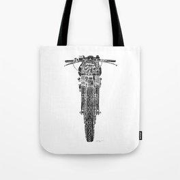 Vintage Italian 860 GTS Motorcycle Tote Bag