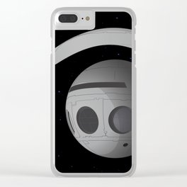 discover.eye 1 Clear iPhone Case