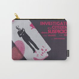 Investigation of a Citizen above Suspicion - Italian Masterpiece Movie Poster Carry-All Pouch