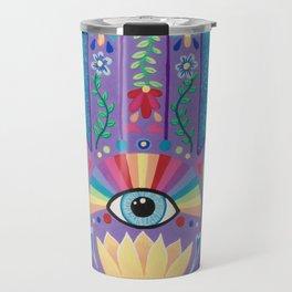 Lucky Hand of Fatima Travel Mug