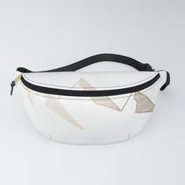 Golden Mountains Fanny Pack