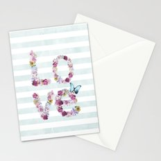 SPRING FLORAL LOVE Stationery Cards