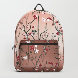Floral, Rose Gold Sky Backpack