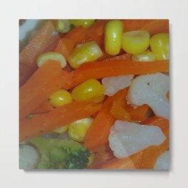 Summer Vegetables Metal Print