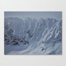 Alaska Mountains Canvas Print