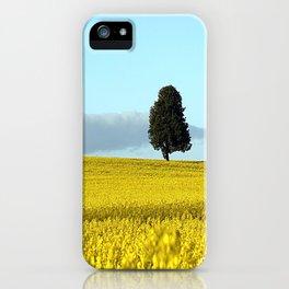 Fife's Golden Fields Of Rapeseed. iPhone Case