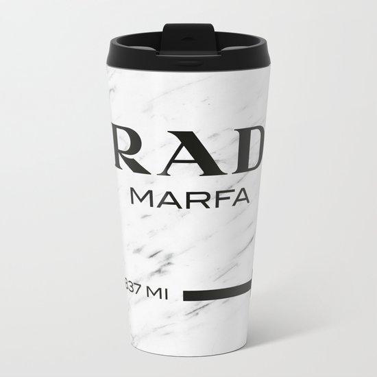 PradaMarfa Metal Travel Mug