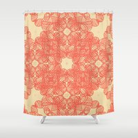 wild things Shower Curtains featuring Wild Things by monasita