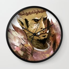 prince of feathers ork Wall Clock