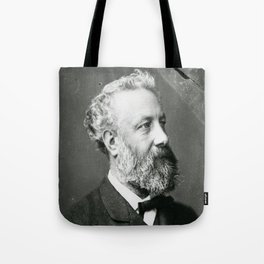 portrait of Jules Verne by Nadar Tote Bag