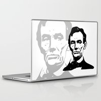 lincoln Laptop & iPad Skins featuring LINCOLN $ by b & c
