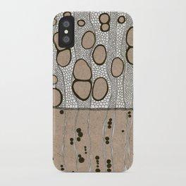 Inside White Ash 2 iPhone Case