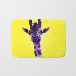 Silly Giraffe Bath Mat