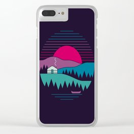 Back To Basics Clear iPhone Case