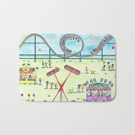 Fun at the Fair II Bath Mat
