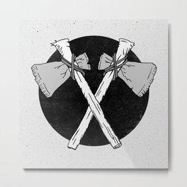 Axes Metal Print