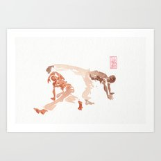 Capoeira 289 Art Print