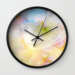 Dreaming of Roses Wall Clock