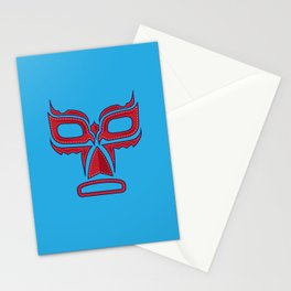 Luchador Mask Good Guy Stationery Cards