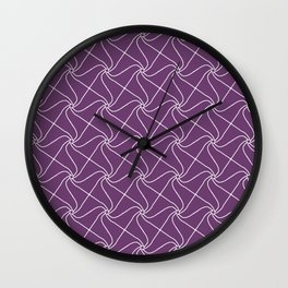 Abstract Pattern 2 Wall Clock