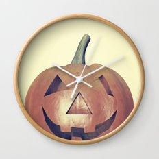 Smile Head  Wall Clock