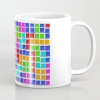 tetris Mugs featuring Tetris by MarioGuti