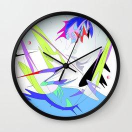 sea refresh Wall Clock