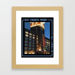Ponce City Market, Old Fourth Ward Framed Art Print