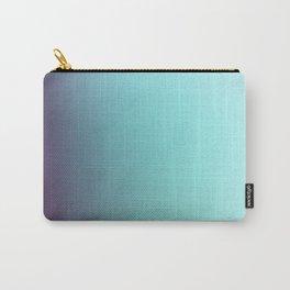 AQUA / Plain Soft Mood Color Blends / iPhone Case Carry-All Pouch