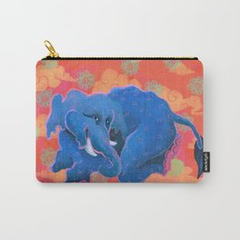 Colourful Animal Elephant Decoration Patterns Carry-All Pouch
