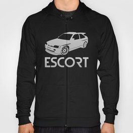 Ford Escort RS Cosworth - silver - Hoody