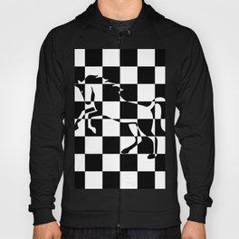 Chessboard Unicorn Hoody