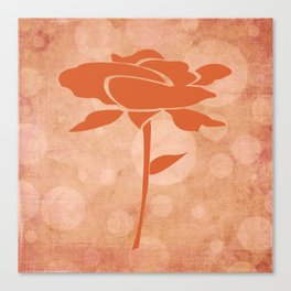 Rose in the Garden of Dreams Canvas Print