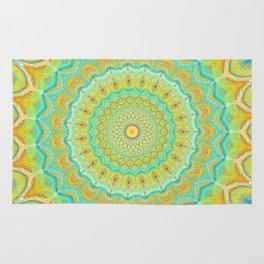 Citrus Burst - Mandala Art Rug