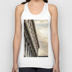 Venice Sunset in St. Marks Unisex Tank Top