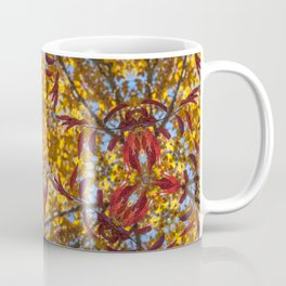Autumn Franklinia Coffee Mug