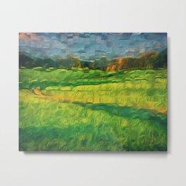 Division Landscape Metal Print