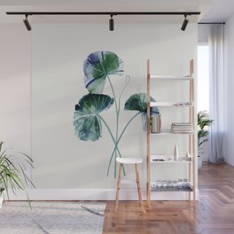 Water lily leaves Wall Mural