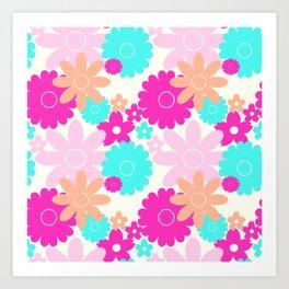 Summer Garden Lollie Art Print