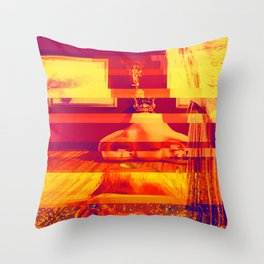 Figueres, Spain | Project L0̷SS   Throw Pillow