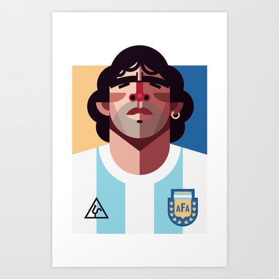 DM10 | La Albiceleste Art Print