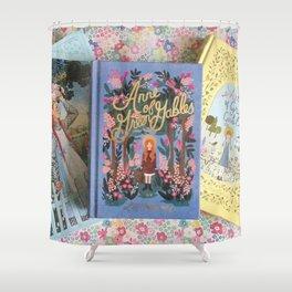 Anne of Green Gables Books Shower Curtain