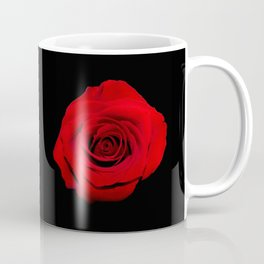 Think Flowers - Red Rose Coffee Mug