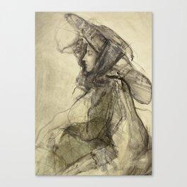 Hommage à Lovis Corinth V Canvas Print