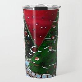 A Childlike View Of Christmas Travel Mug