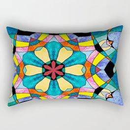 fractal V Rectangular Pillow