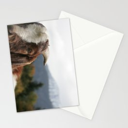 Look who's complaining, funny goat photo Stationery Cards