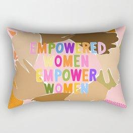 Women supporting Women Rectangular Pillow